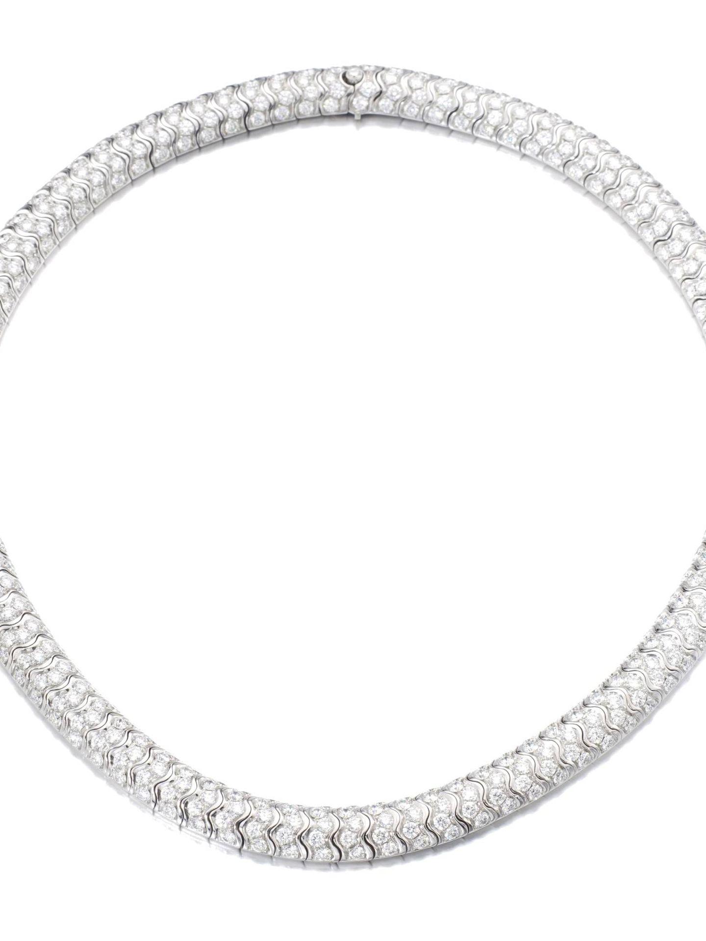 El collar de De Grisogono subastado en Sotheby's.