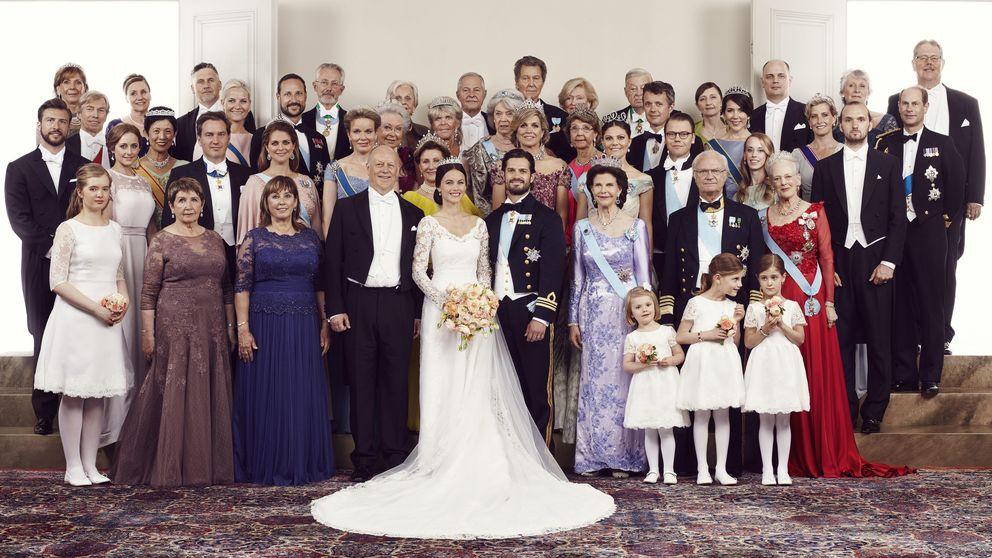 Las fotografías oficiales del día más feliz de Carlos Felipe y Sofía Hellqvist