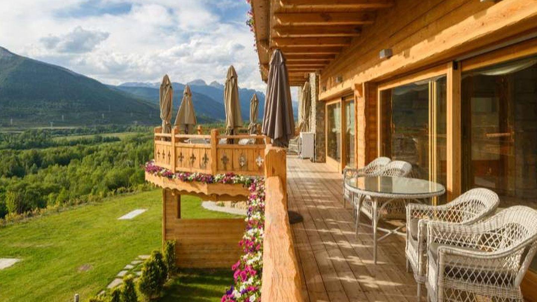 El Viñas de Lárrede, un hotel con vistas.