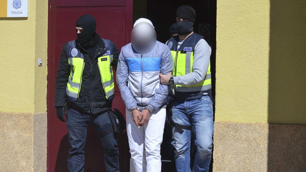 Foto: Imagen de archivo de una operación contra el yihadismo en Ceuta. (Reuters)