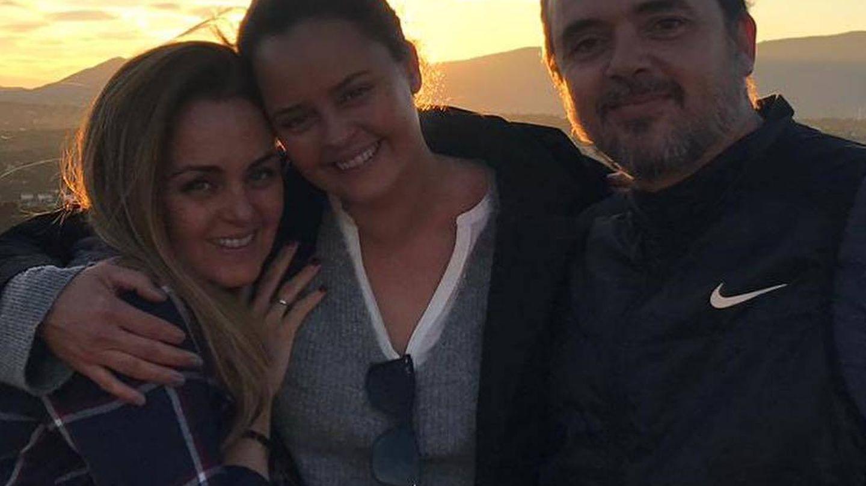 Carmen Morales, Shaila Dúrcal y Antonio Morales. (Instagram)