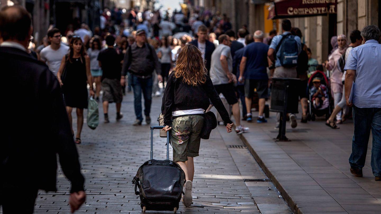 Una imagen habitual en septiembre en Madrid o Barcelona. (A. G.)