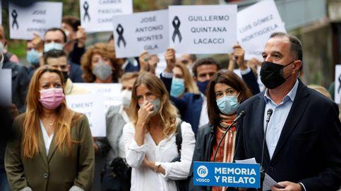 Tensa jornada de manifestaciones cruzadas entre partidarios de las víctimas y de ETA