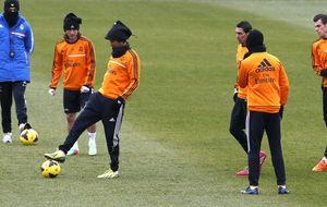 Luis Enrique y un fondo sin Ultras marcan el primer partido del año en el Bernabéu