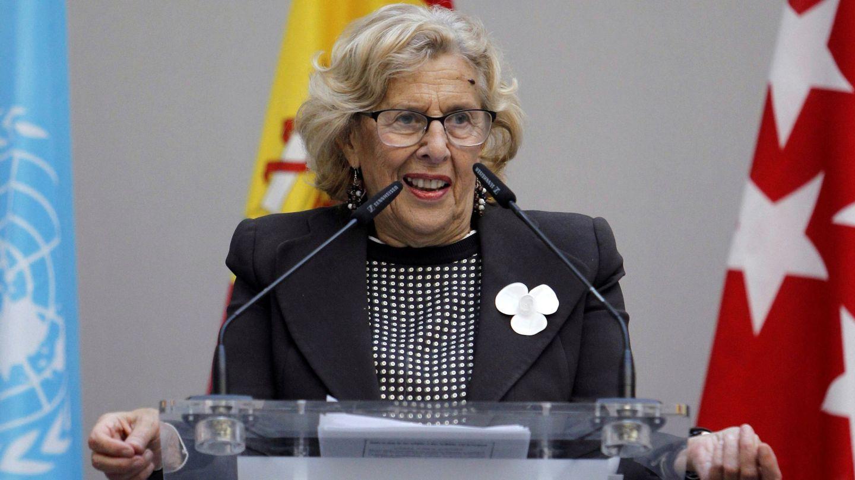 La alcaldesa de Madrid, Manuela Carmena. (EFE)