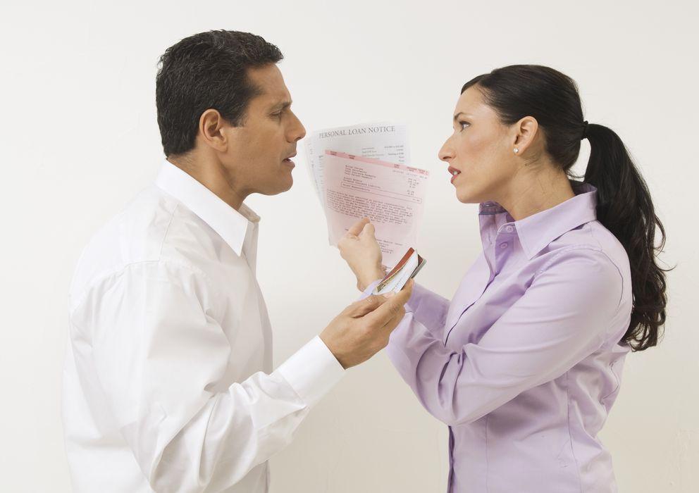 Foto: Las discusiones en torno al dinero son las más habituales entre las parejas. (Corbis)