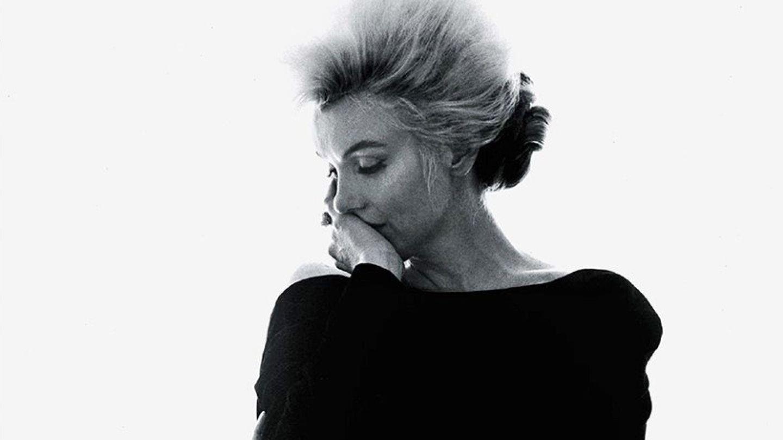 Fotografía facilitada por Galería Joseph de la actriz Marilyn Monroe durante una sesión fotográfica. (EFE)