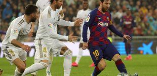Post de FC Barcelona o Real Madrid: quién se llevará el Clásico, según las estadísticas