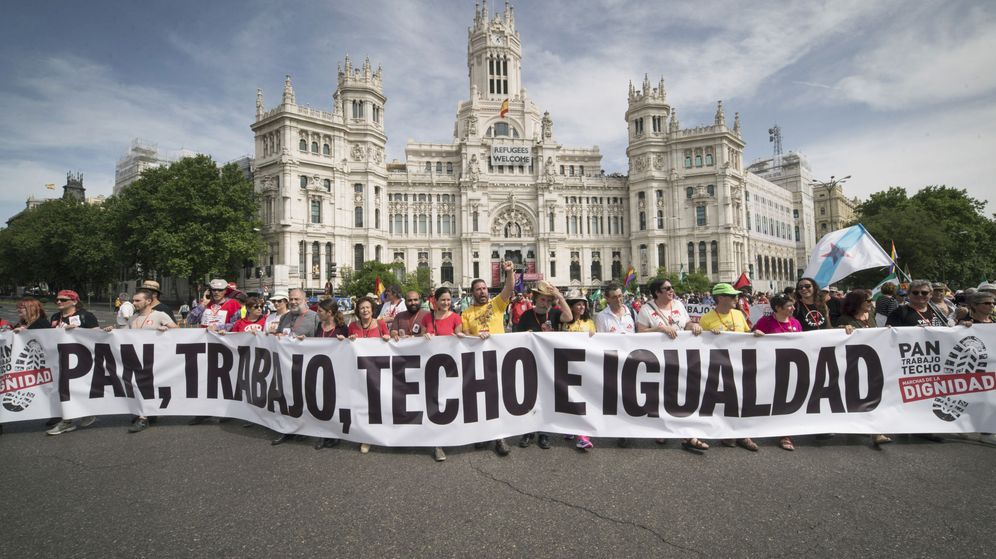 Foto: Marchas de la dignidad, fotografía de archivo