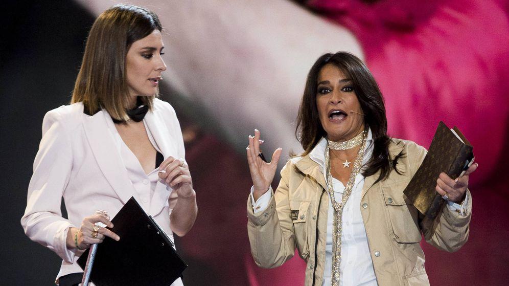 Foto: Sandra Barneda y Aida Nízar en el debate de 'GH VIP 5'. (Gtres)