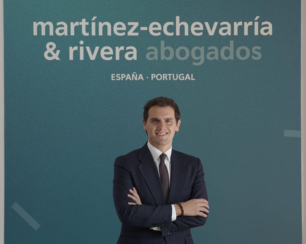 Foto: Albert Rivera estrena nombre e imagen corporativa en Martínez-Echevarría.