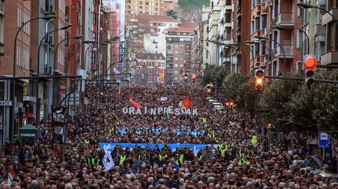 Podemos se manifiesta en Bilbao junto a Bildu y ERC en defensa de los presos de ETA