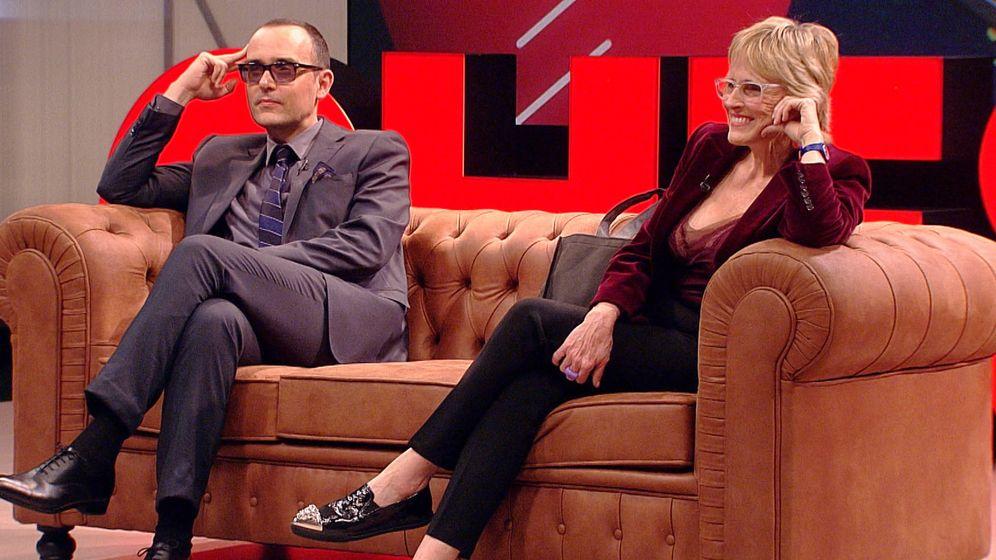 Foto: Mercedes Milá y Risto Mejide en 'Chester in love'