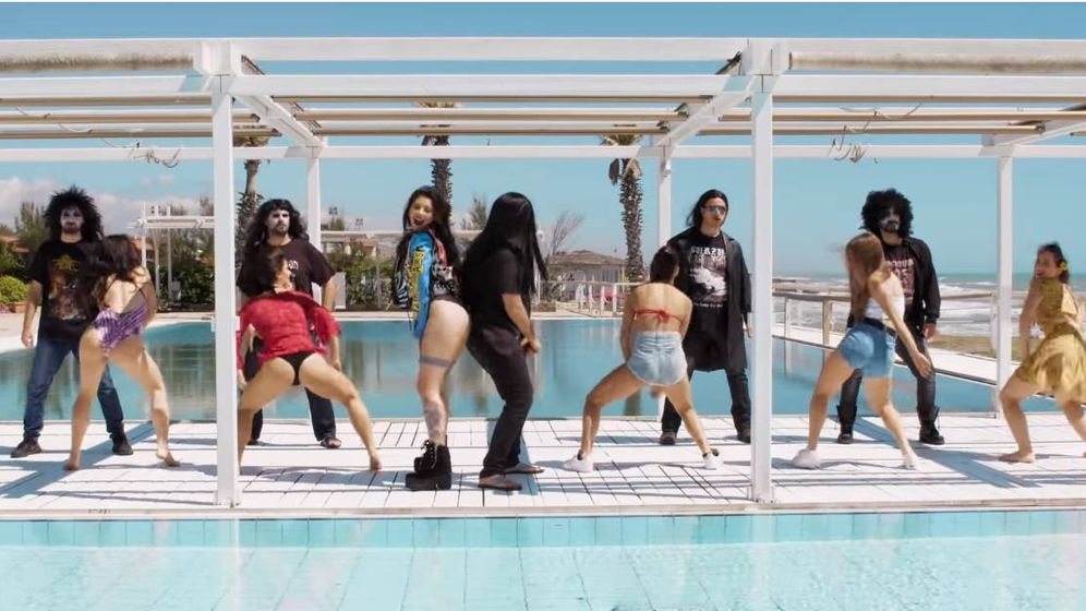 Foto: Fotograma del videoclip 'Norwegian Reggaeton'