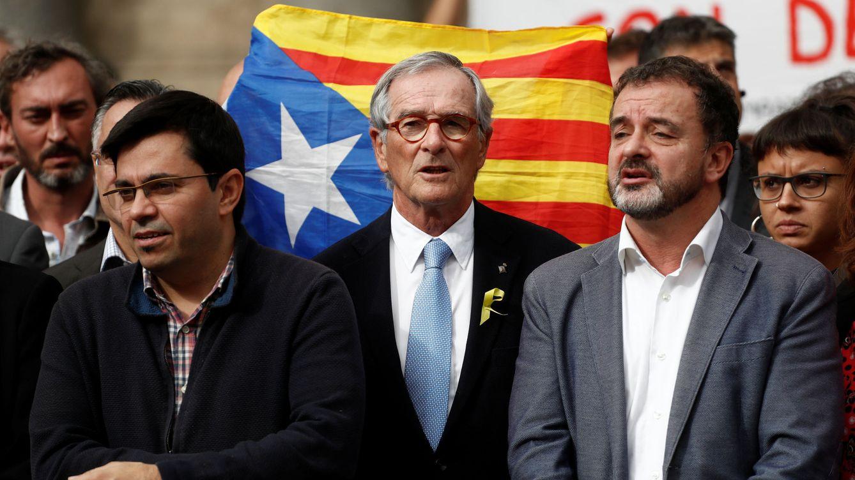 Foto: Xavier Trias, en una concentración para solicitar la libertad de cargos políticos catalanes detenidos. (Reuters)