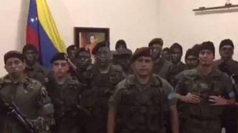 Un grupo de militares venezolanos se declara en rebeldía contra el gobierno de Maduro
