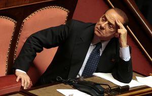 Berlusconi, a un paso de perder su escaño en el Senado y la inmunidad