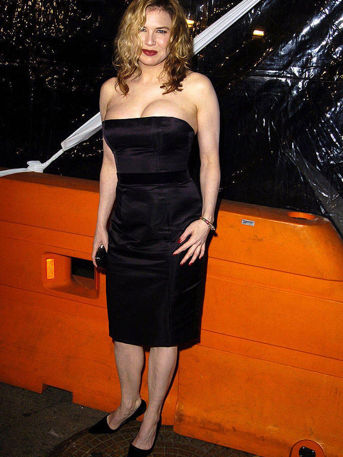 La actriz en el estreno de 'Cold Mountain'.  (Getty)