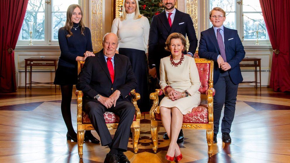 La minifalda de Ingrid Alexandra de Noruega en la felicitación navideña