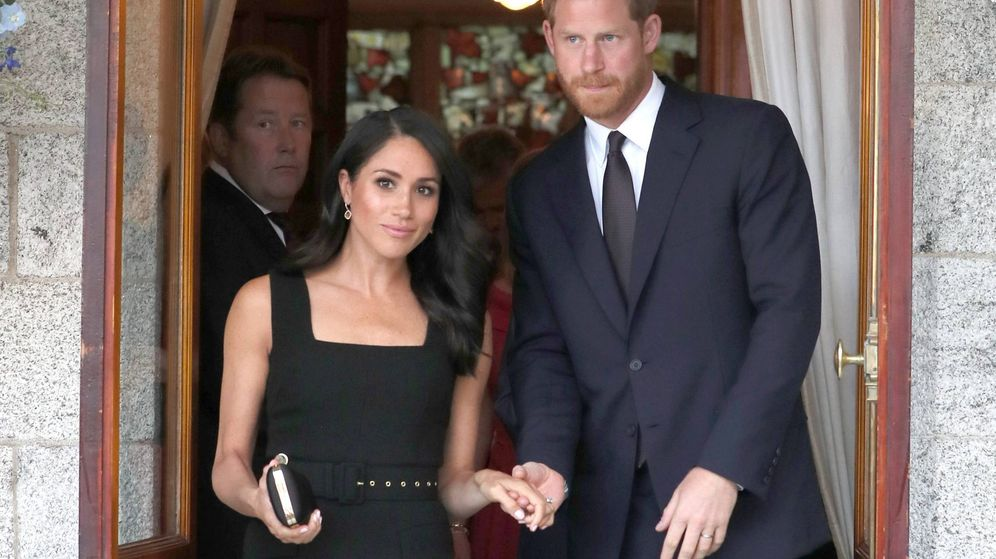 Foto: Meghan Markle y el príncipe Harry (Cordon Press)