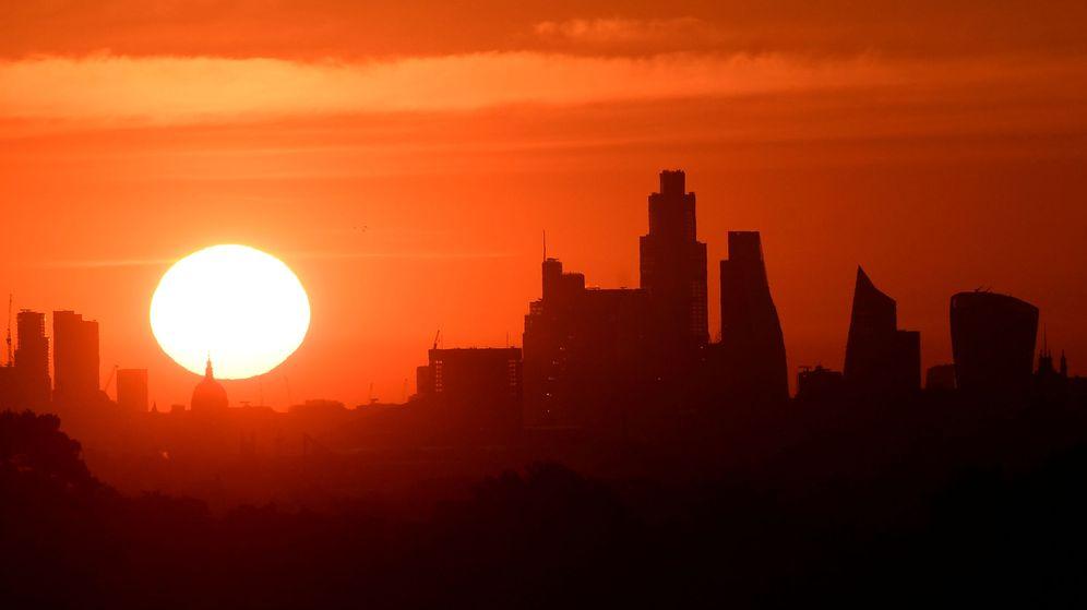 Foto: Foto de la Ciudad financiera en Londres. (Reuters)