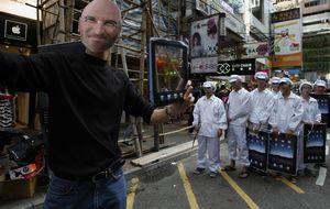 El maltrato de Apple a China alimenta el mercado negro
