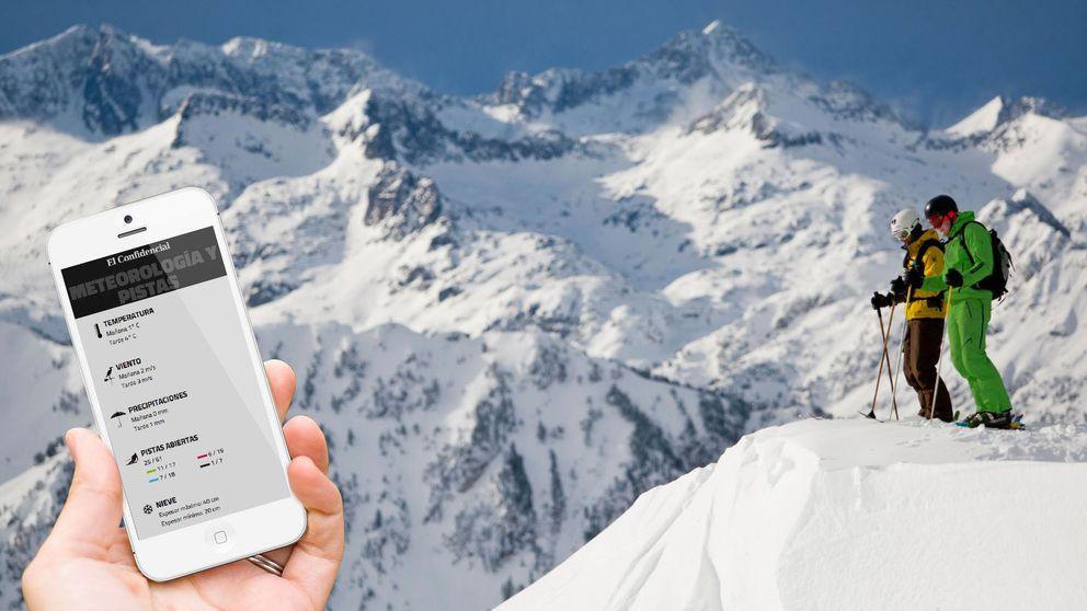 Las mejores apps de esquí (y un invento raro) para un día de nieve perfecto