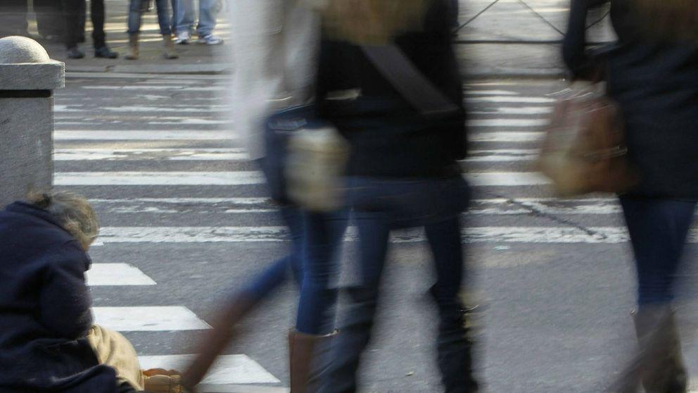 Tres millones de españoles viven solo con menos de 307 euros al mes