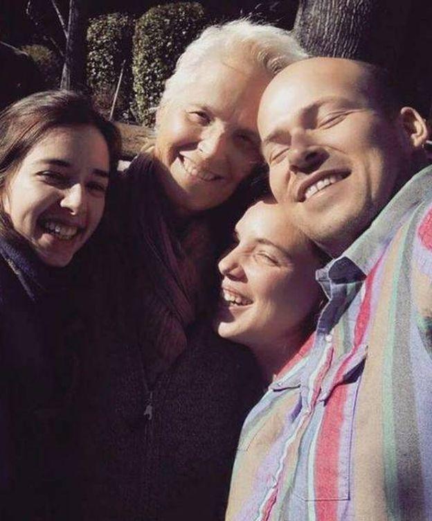 Foto: Lucia Dominguín, Olfo, Jara y Lucía 'Palito' en una foto de Instagram
