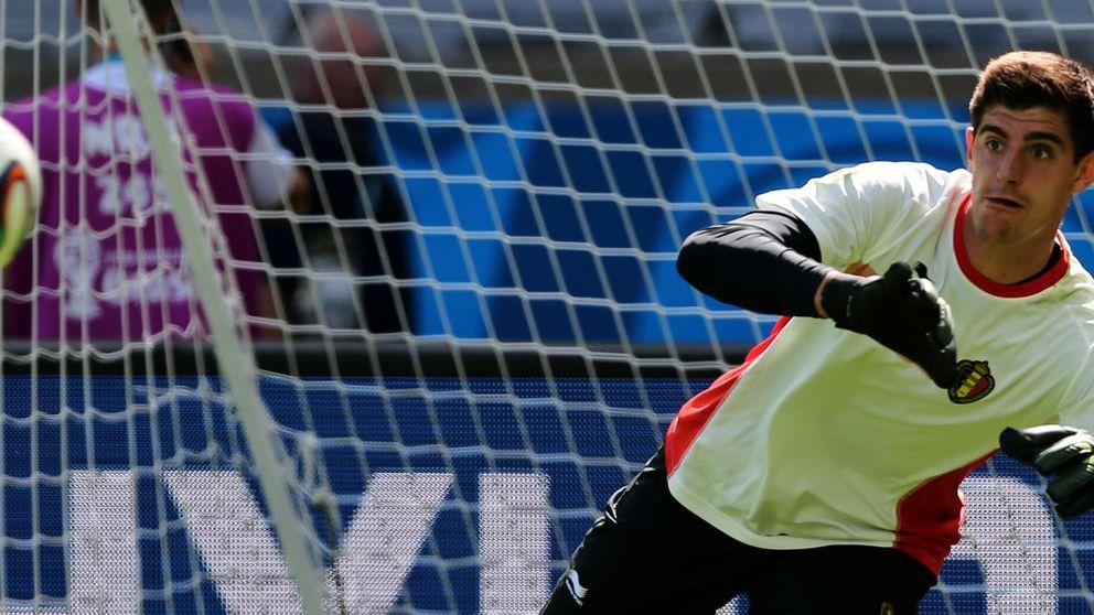 Courtois debuta en Brasil mientras presiona por seguir en el Atlético