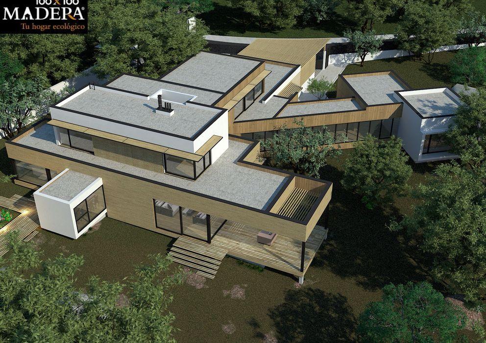 La casa de madera m s grande de espa a fotogaler as de - Casas de madera espana ...
