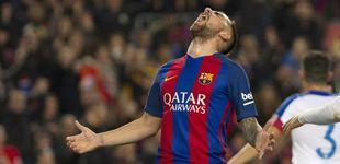 Post de El elefante de Paco Alcácer por fin se hizo visible en el Camp Nou