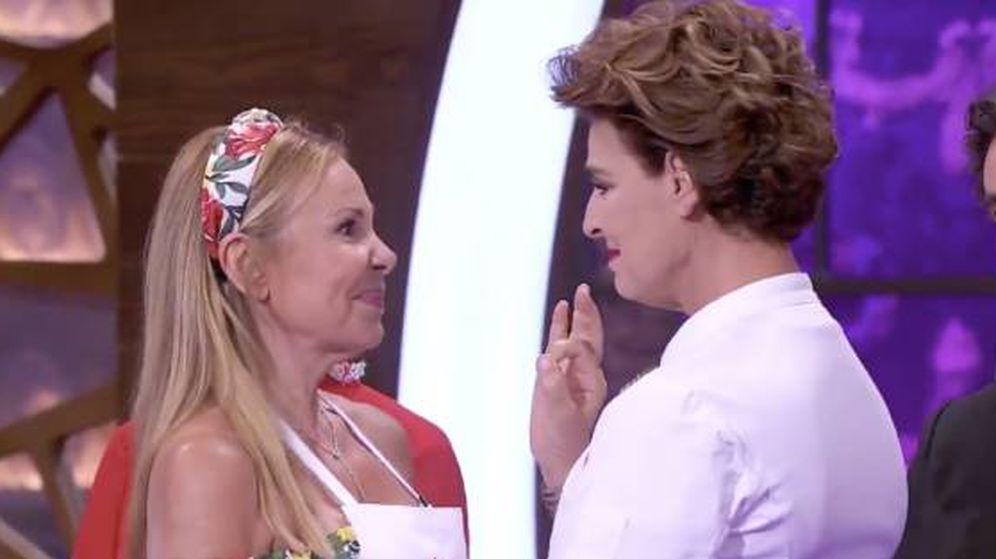 Foto: Ana Obregón y Antonia Dell'Atte, en 'MasterChef Celebrity'. (TVE)
