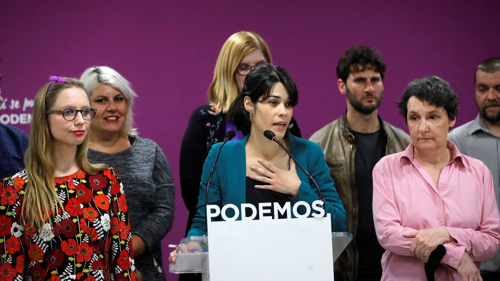 Foto: La candidata de Podemos a la Comunidad de Madrid, Isabel Serra. (EFE)