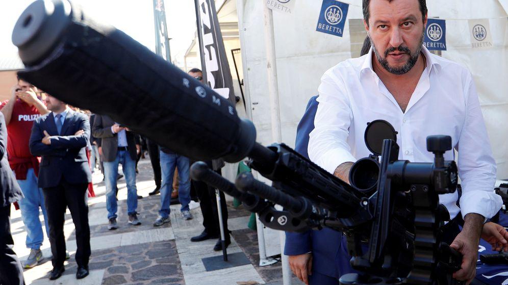 Foto: El ahora exministro de Interior italiano, Matteo Salvini. (Reuters)