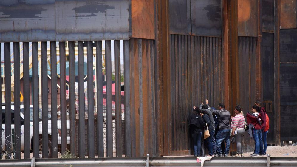 Foto: La frontera entre México y EEUU (EFE)