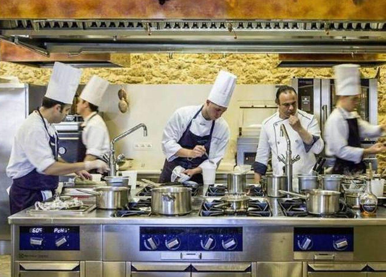 Gastronom a apuestas en la cocina d nde caer la for Estrella michelin cocina