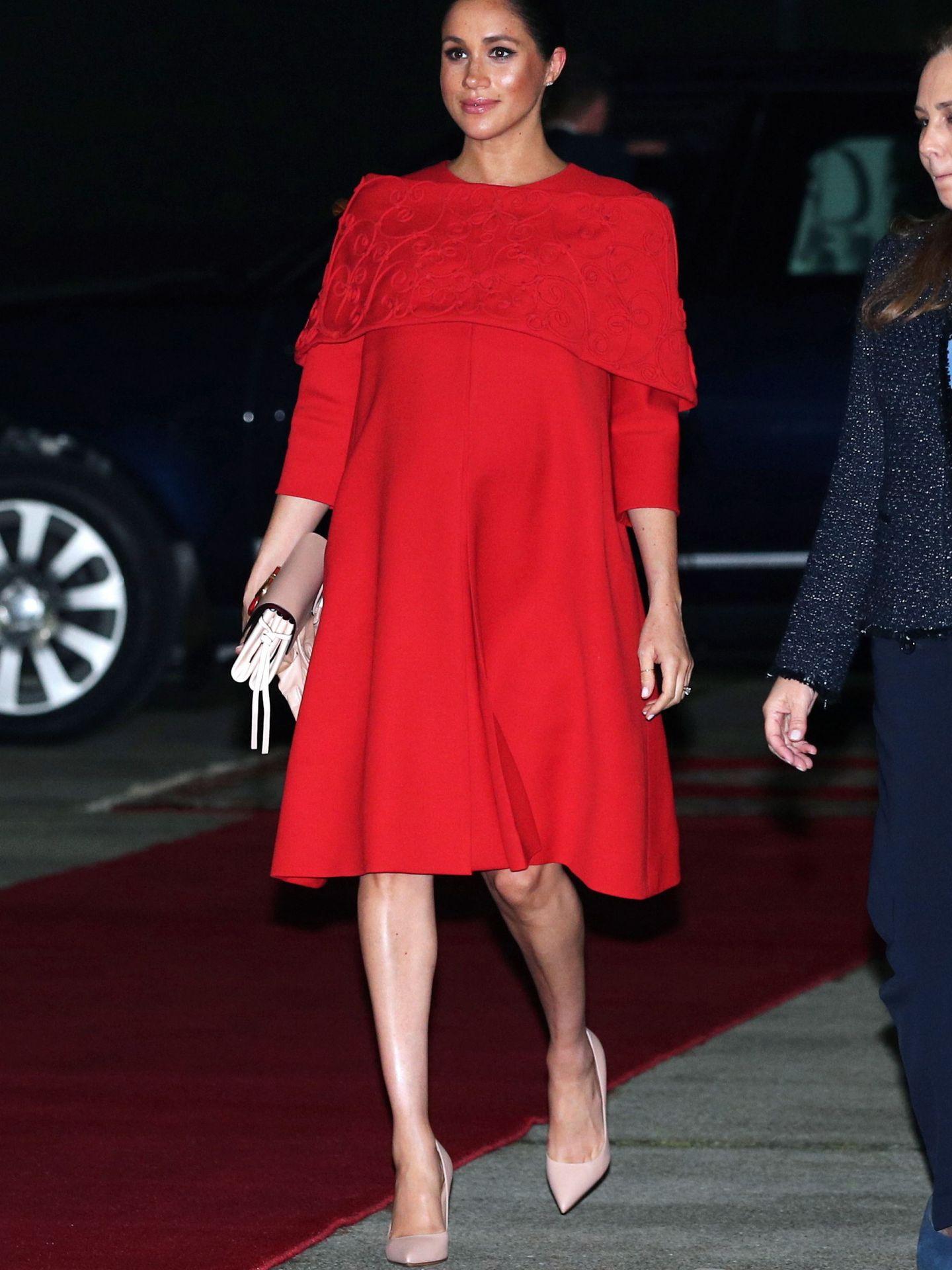 La duquesa en Marruecos. (Getty)