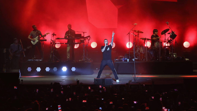 Maroon 5 en concierto (Rick Kern/Getty Images).