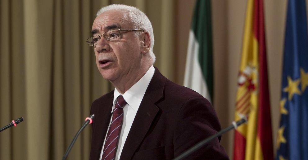 El consejero de Educación, Cultura y Deportes de la Junta de Andalucía, Luciano Alonso. (EFE)