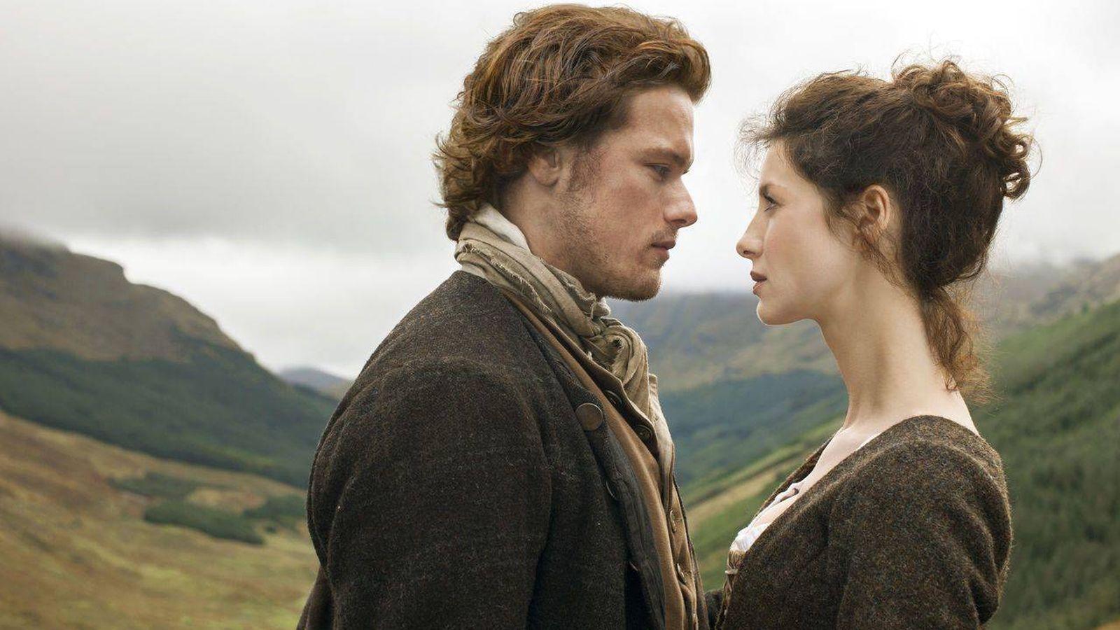 Foto: Fotografía promocional de 'Outlander'. (Starz)