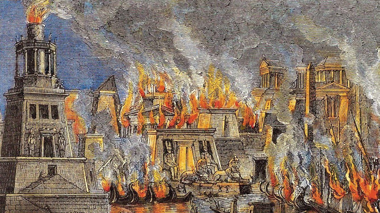 Cae el último gran mito: no, el fuego no destruyó la Biblioteca de Alejandría