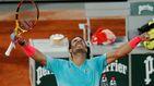 Nadal doblega a la nueva joya italiana y pasa a semis en la 'sesión golfa' de Roland Garros