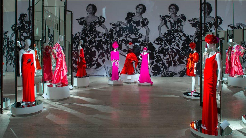 Vista de la exposicio?n 'Naty Abascal ¡y la moda!', en el Museo Jumex, 2019. (Foto: Ramiro Chaves)