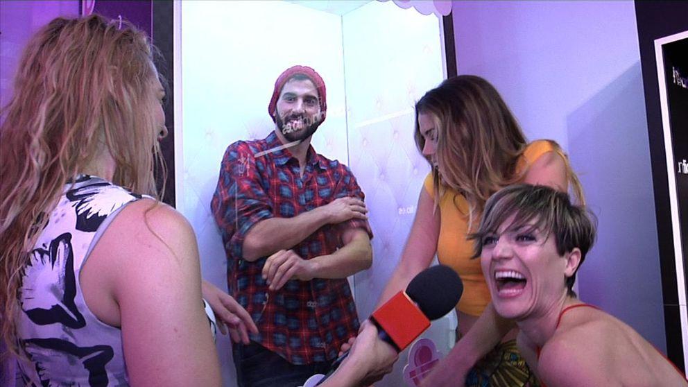 Aly Eckmann y Sara Escudero 'compran' hombres con Vanitatis