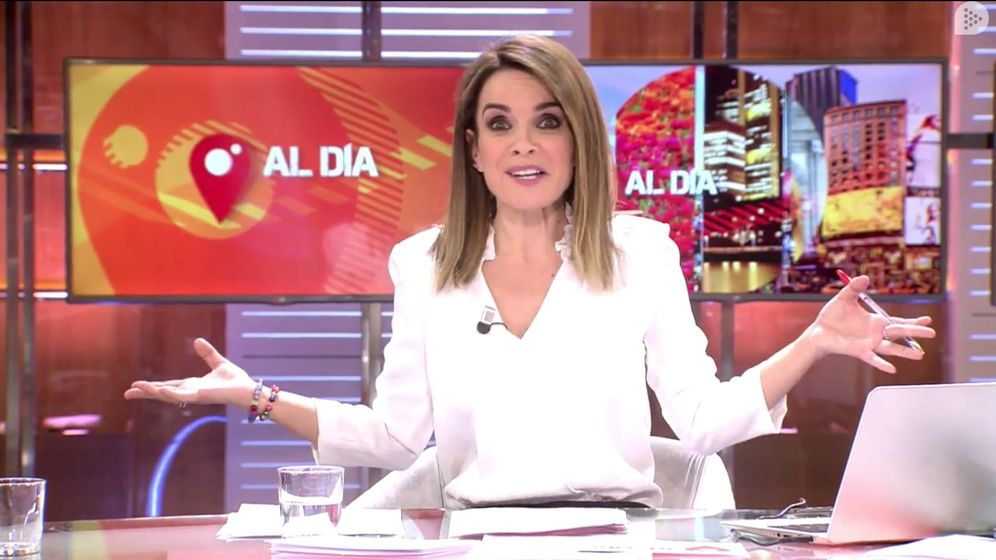Foto: La periodista Carme Chaparro. (Mediaset)