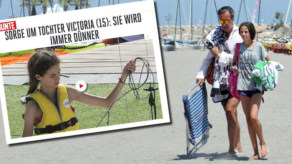 La prensa alemana critica la delgadez de Victoria Federica: Marichalar responde