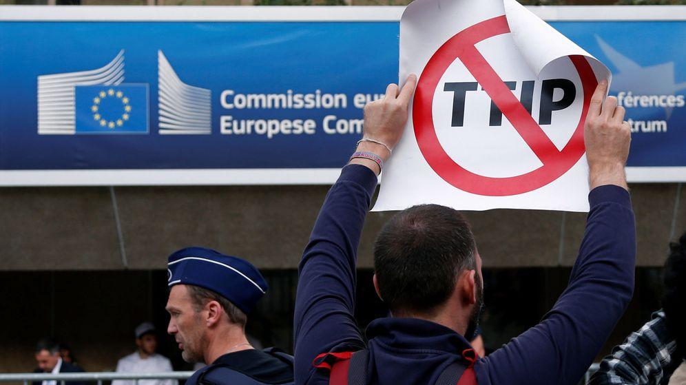 Foto: Manifestación contra el TTIP. (Reuters)