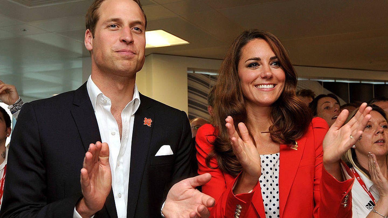 Los duques de Cambridge, en los Juegos Olímpicos de Londres en 2012. (Getty)