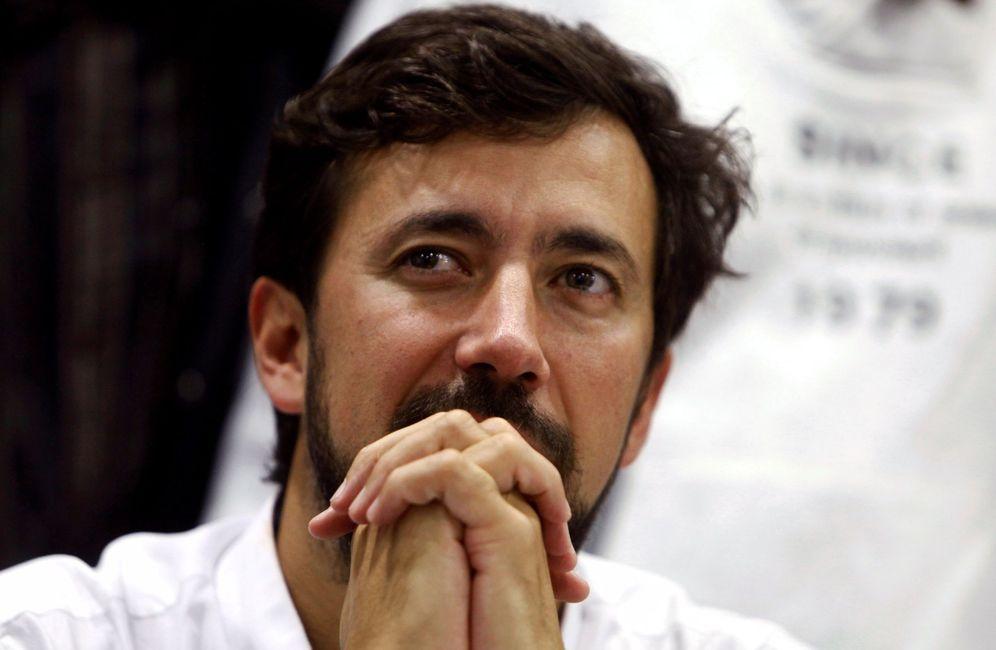 Foto: El recién elegido secretario general de Podemos en Galicia, Antón Gómez-Reino. (EFE)